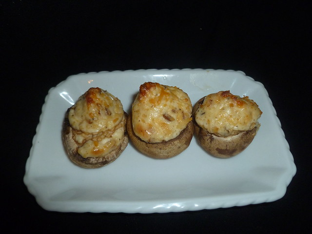 Mouth-Watering Stuffed Mushrooms | Flickr - Photo Sharing!