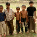 Bangladeshi Boys Playing Cricket - Bandarban, Bangladesh