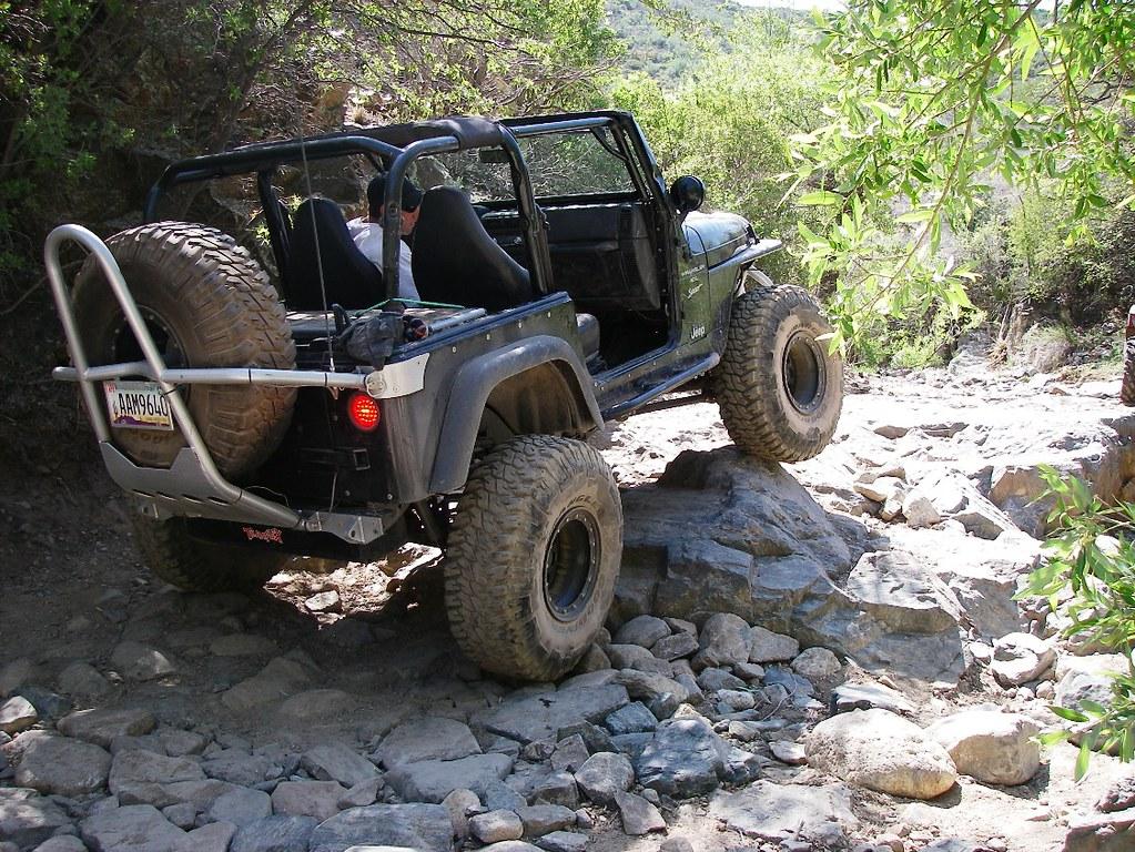 Backway to Crown King Arizona  Arizona Backroads  4Wheel Drive