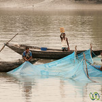 Fishing on the River - Bangladesh
