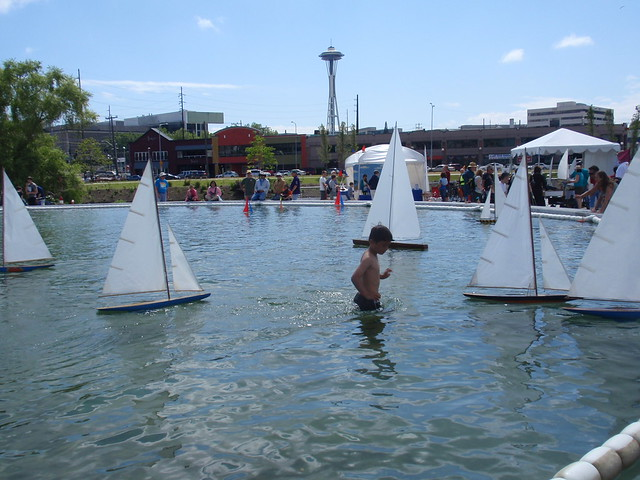 Pond yacht regatta at South Lake Union during the Wooden Boat Festival 2011 | Flickr - Photo ...