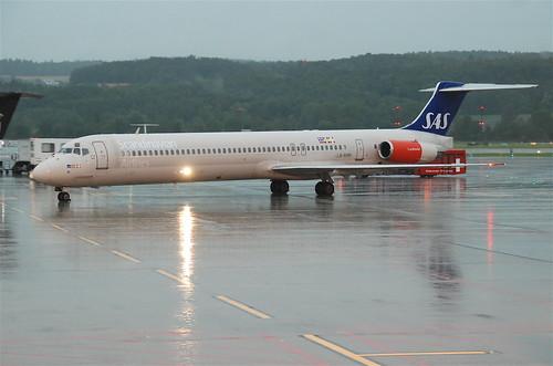 Scandinavian Airlines MD-82; LN-RMM@ZRH;13.07.2011/608co