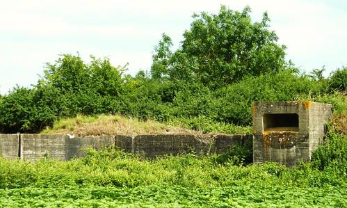 blockhaus reseau de tranchées de la clouze nord ro329 wastel, 13