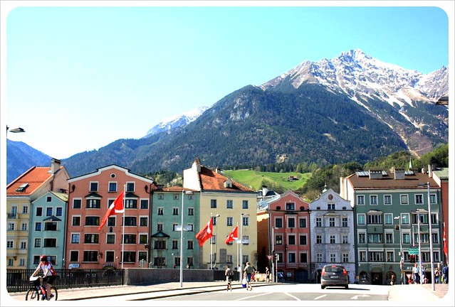 Innsbruck houses & mountains