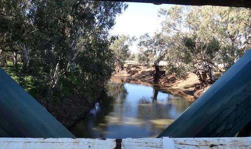 Lachlan River,  Warroo Bridge
