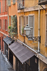 La rue droite dans le Vieux-Nice