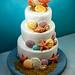 Seashell Birthday Cake