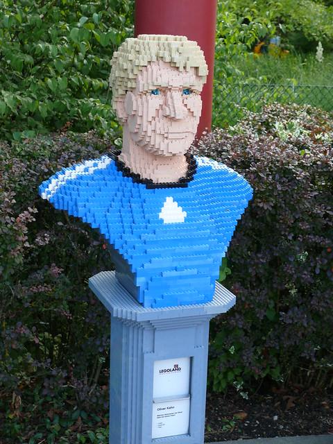 LEGO-Büste: Oliver Kahn