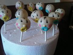 baby face cake pops