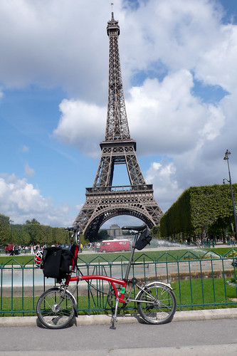From London to Paris - on my Brompton!