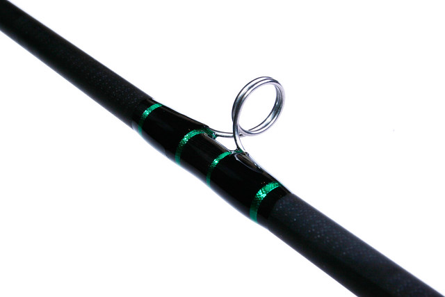 Cajun custom fishing rod green black 2 flickr for Green fishing rod