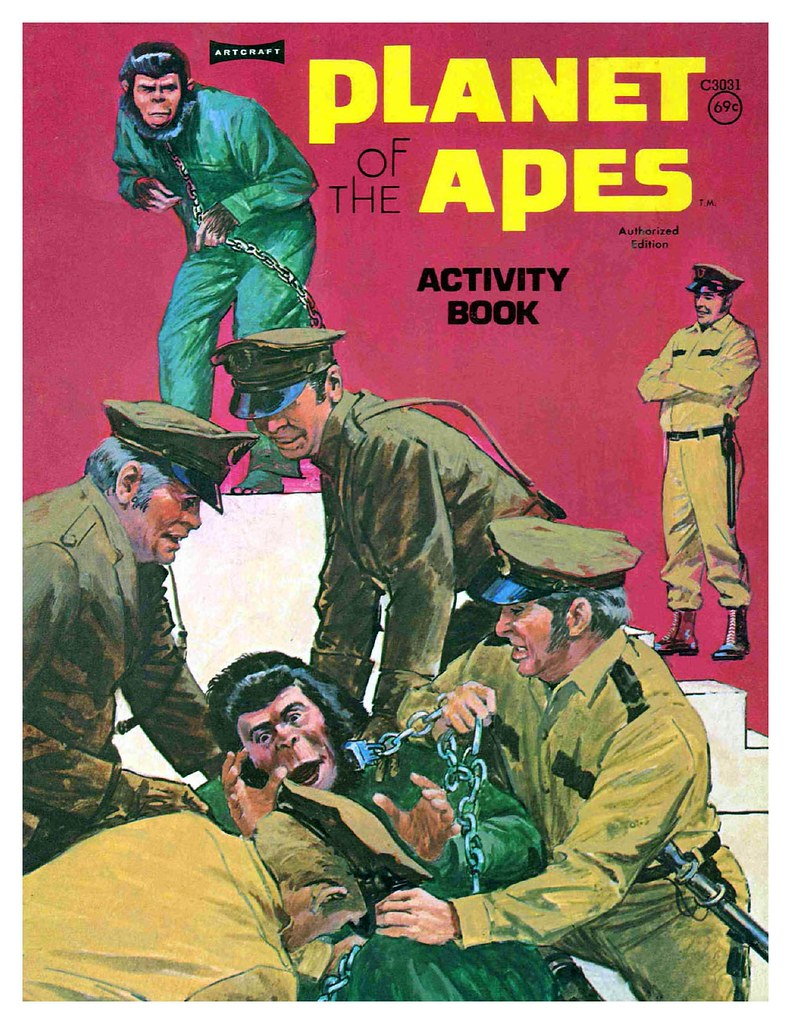 Planet of the Apes Activity Book 0200001
