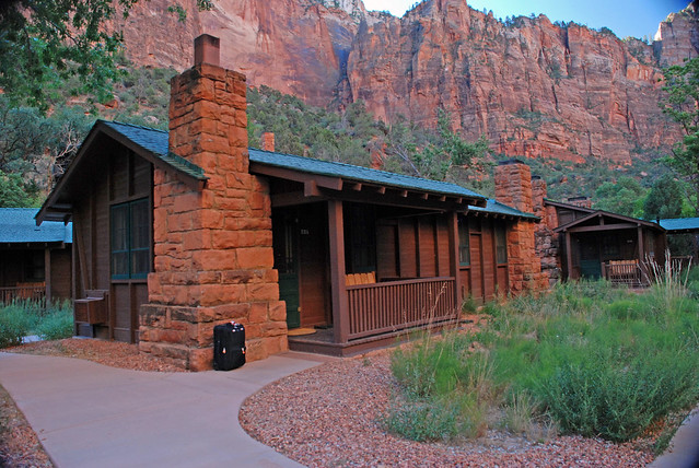 Zion national park cabin flickr photo sharing for Cabin zion national park