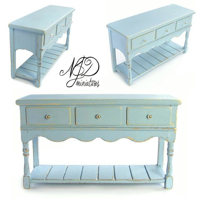 1 12 handpainted shabby chic buffet flickr photo sharing. Black Bedroom Furniture Sets. Home Design Ideas