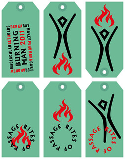 Burning Man tags
