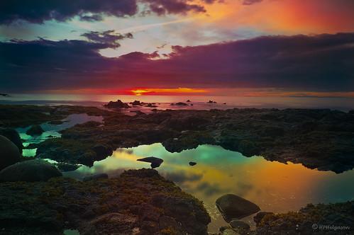 sunset iceland colours summernight sólarlag litir sólsetur litagleði sumarkvöld hphson sonyslta55