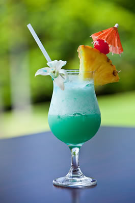 tropical drink gif