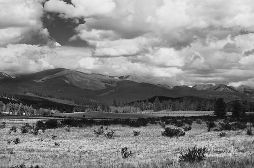 blackandwhite mountains nature landscape nikon colorado denver rockymountains d90 kenoshapass