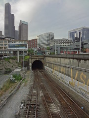 Downtown Seattle and the 1904 Tunnel