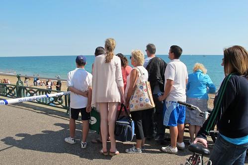 Beach tragedy bystanders