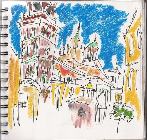 El otro cuaderno, catedral de Teruel