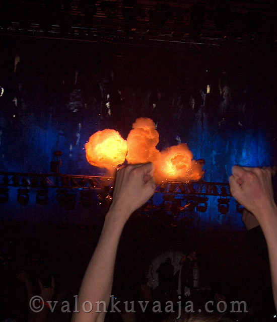 Ruisrock 2005 perjantai - Rammstein