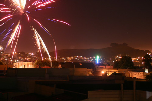 Bernal Hill on 4th of July