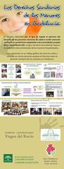 """Tríptico exposición """"Los Derechos sanitarios de los menores en Andalucía"""""""