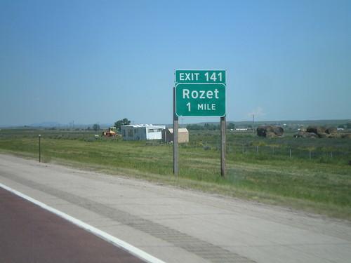 I-90 East - Exit 141