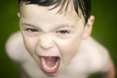 [フリー画像素材] 人物, 子供 - 男の子, 人物 - 口を開ける, アメリカ人 ID:201205291600
