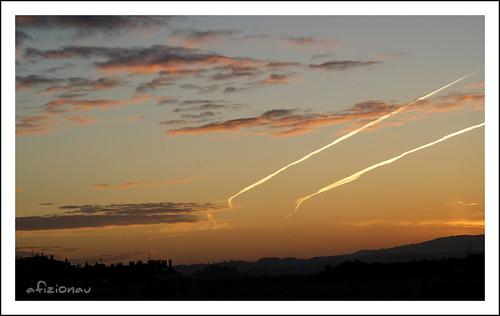sol clouds sunrise sony amanecer nubes oviedo a330