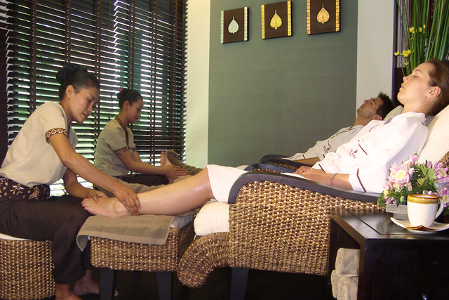 Foot Massage at Tara Spa