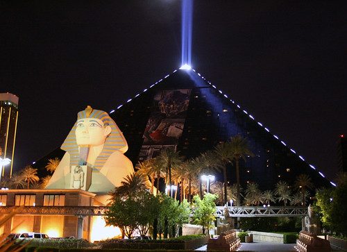 Luxor Casino in Las Vegas, United States