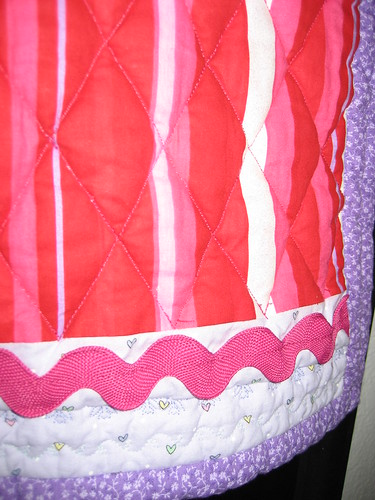 Diamond Quilt Detail - Liliana's Baby Quilt