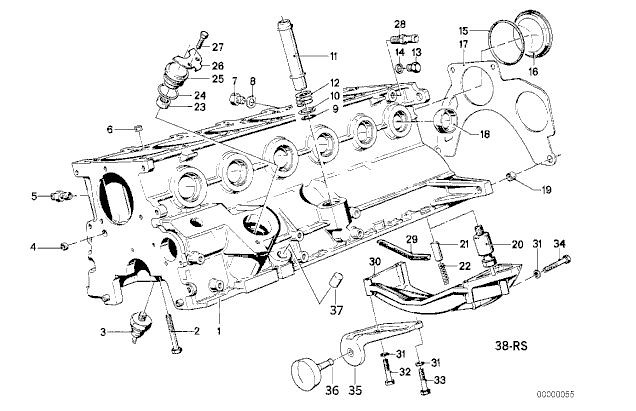 1987 e30 325i engine diagram