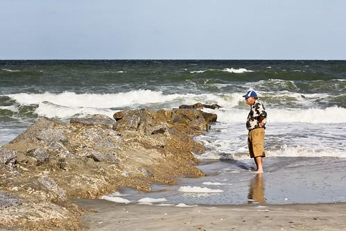 ocean trip sea beach stone myrtlebeach sand rocks southcarolina groin pawleysisland