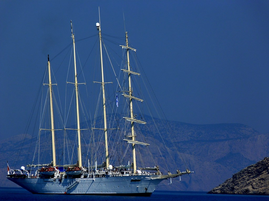 Four-masted vessel