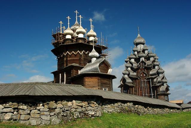 Kizhí pogost. República de Carelia.