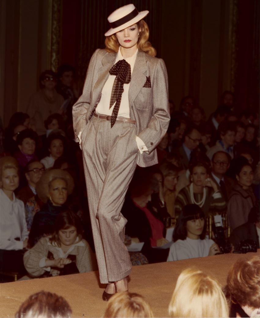 Yves-Saint-Laurent-haute-couture-1978-©Guy-Marineau