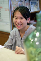 Mei, Volunteer at the Seamen's Mission, Kobe
