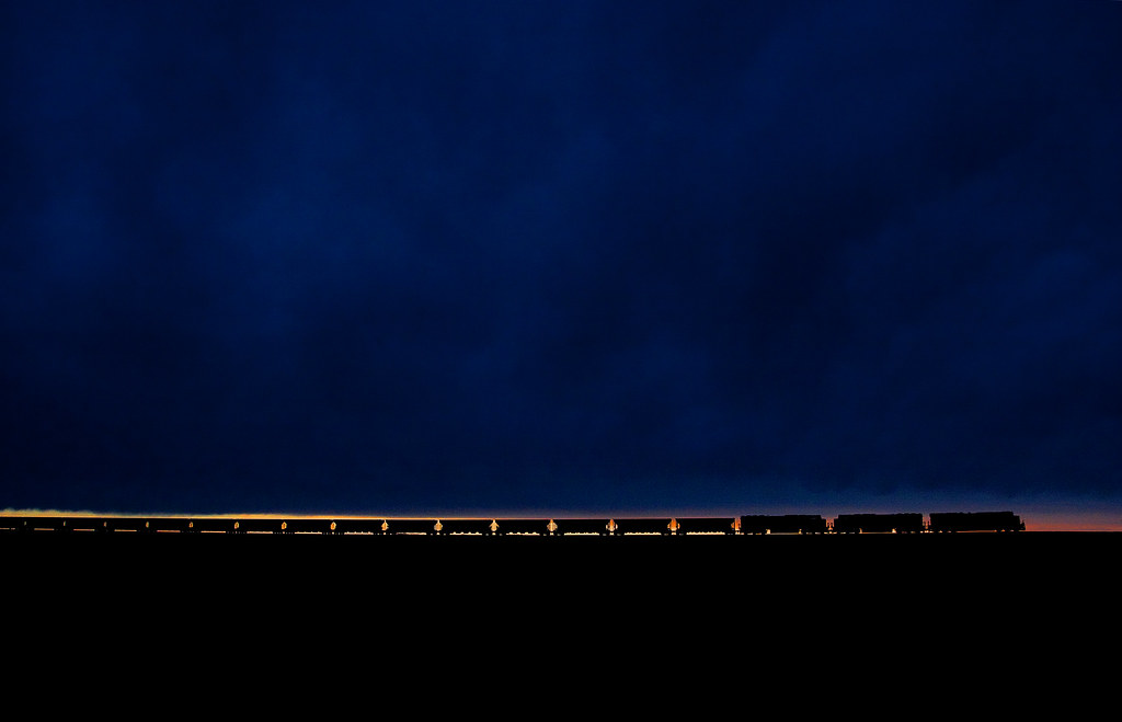 Picture of the Day: Coal Train Sunset