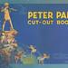 PETER PAN CUT OUT BOOK