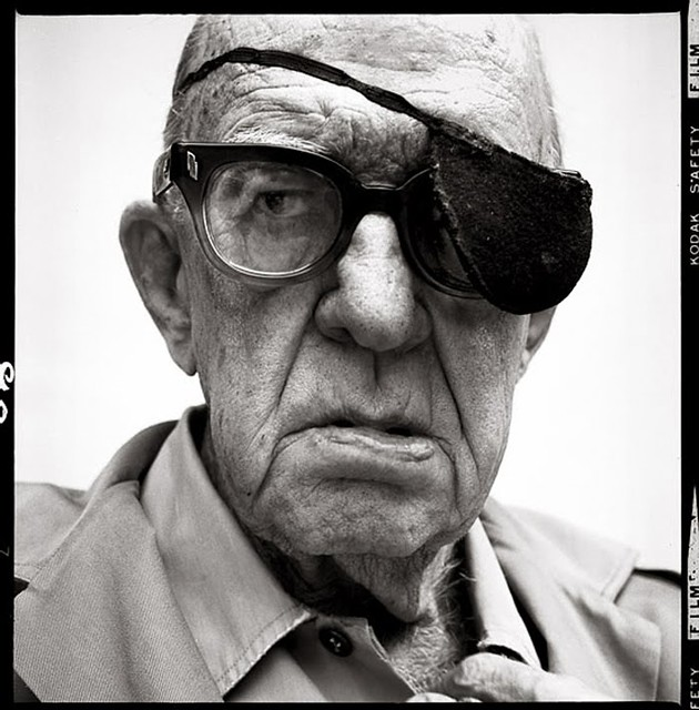 John Ford, 1972, by Richard Avedon