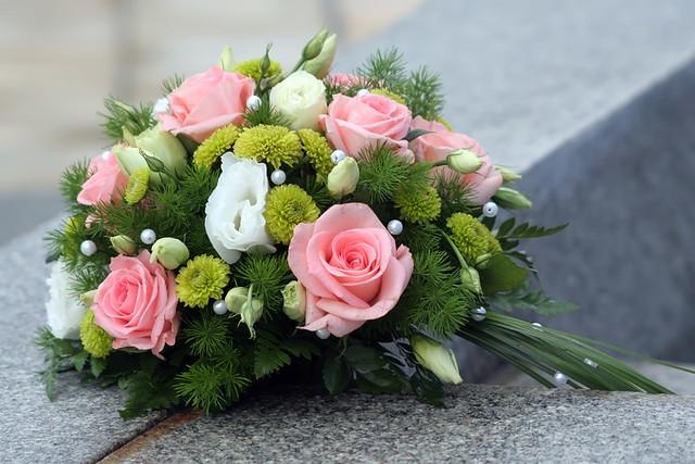 Fresh Flower Wedding Arrangement Flickr Photo Sharing