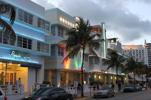 Miami Beach Florida Art Deco Hotels Miami Beach