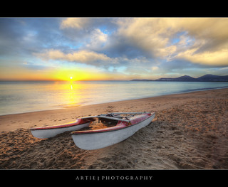 The Morning Catameran at Holloways Beach, Cairns, Australia :: HDR