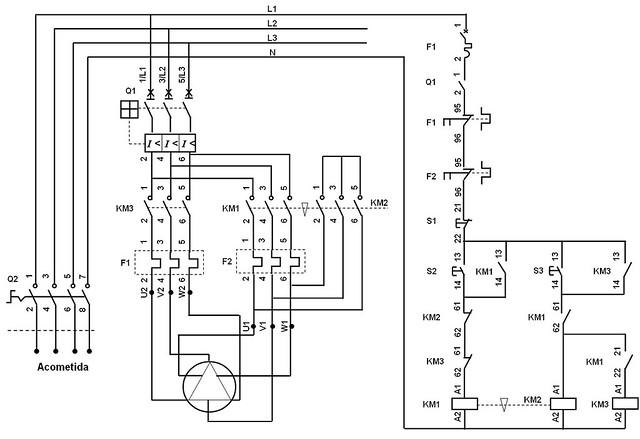 slmrf03 cont r22 circuito arrancador de un motor de 2
