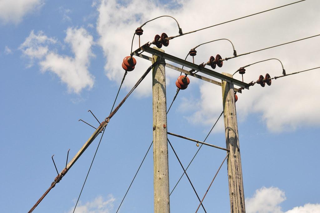 Mini pylon Otford to Eynsford - Sunday, 24 July 2011