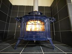 wood-burning stove, lighting, hearth,