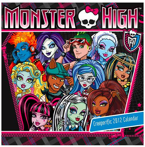 2012 Monster High Calendar